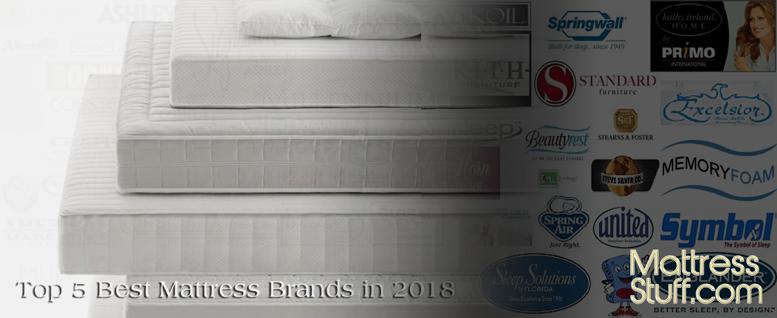 Top 5 Best Mattress Brands 2018 Full Report